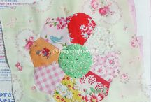 Handsew patchwork blocks and projects