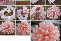 DIY virágok