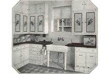Old kitchens