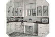 Old kitchens