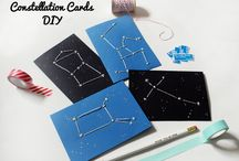 Cool Astronomy Crafts! / Neat projects to do with kids to learn more about constellations and other treasures in the night sky.
