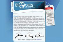 Biocals / Biocals:. Η εταιρεία δραστηριοποιήται από το 1997 στην παραγωγή πλαστικών κρεμαστρών που εικονίζονται στον κατάλογό μας, καθώς και στη μελέτη, σχεδιασμό και κατασκευή καλουπιών.