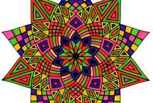 mandala / coloriage mandalas