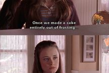 -> gilmore girls / my favourite show - currently being revived