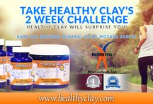 Healthy Clay All Natural Blue Clay Detox / Healthy Clay is an amazing cleansing compound used internal or external. Just take 2 Pills a Day!!!