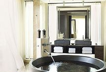 Bathroom Decor / Bathrooms  Bathroom Bliss. Blog Tags: accessories, accessory, art, bath, bathroom, bathtub, chandelier, decor, decorate, design, fashion, faucet, floor, furniture, guest bath, home, interior design, interiors, kids' bath, marble, master bath, mirror, powder room, sconce, sink, shower, shower curtain, stone, tile, towel, travertine, tub, vanity, white