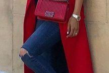 {Fashion} Red Bag