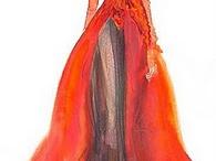fashion sketches / by Cecile Kim