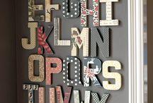 DIY betűk