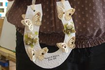 My handmade Wedding horse shoe. / Ant bride would love this,