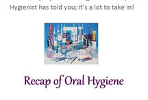 Oral Hygiene / How to look after your Teeth