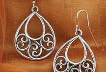Quilled ear rings