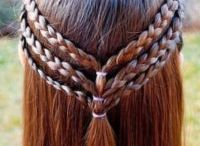 Celebrate Little Girls Hairstyles / I love doing my granddaughters hair when she visits.  Here's our collection of ideas to try!  Celebrate your time together with braids, buns and bows!