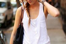 WtoW - White Tops / What to Wear - White Tops are my favorite!  / by Erin Hall