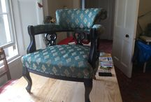 My upholstery projects