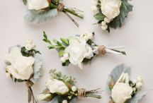 Groomsmen Boutonnière Inspiration / Thinking about your special someone! Lucy's florist has a gorgeous range of boutonnière for your partner and his groomsmen to complete to day of your dreams!