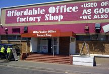 Second hand office factory shop