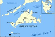 Martha's Vineyard Maps / by Meg Runion