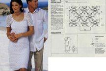 vestido branco de croche