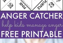 Make an Anger catcher...free printable