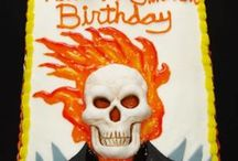 Ghost rider / Party cakes ghost rider toys collectibles  / by Carmel Valentino
