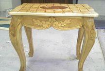 Petja's wood art / woodwork that I have done so far.