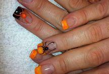 10. Nails - halloween