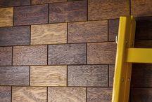 Brick - płytki parkietowe / Drewniane płytki parkietowe dudzisz wood and floor / Wooden tiles by dudzisz wood and floor.