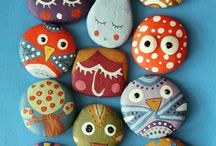 Rock Painting Idea