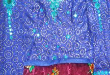 mirror work blouses