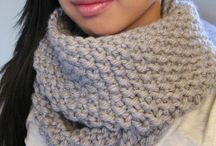 Projects to Try knitted scarves