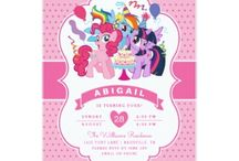 Personalized My Little Pony Gifts and Invitations / My Little Pony Gifts, gift ideas and personalized invitations.  Fun stuff from the new My Little Pony movie.