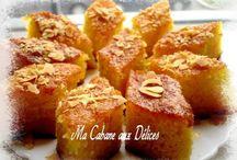Gâteaux d'orient et du Maghreb