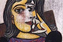 Picasso, sus musas, su entorno