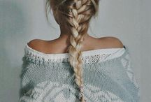 Everyday hair styles. / For school and holidays.