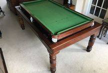 Antique Rollover Snooker Tables