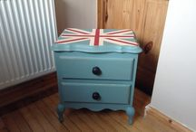 Up cycled furniture / From unloved to very loved!