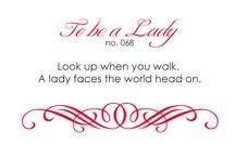 Lady like / by Laurabeth Brock