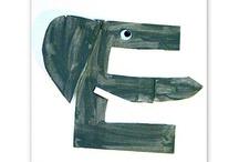 Letter E / by Susan VanDyke