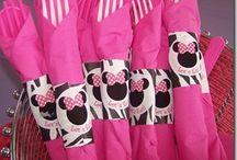 Mickey & Minnie Party Ideas / M - I - C - K - E - Y   M O U S E .... / by Vickie List