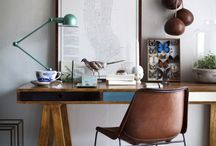 O F F I C E - I N S P I R A T I O N / Work from home and want to create a lust worthy home office? These offices will inspire your most productive self :)