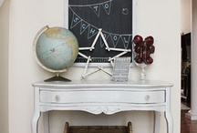 chalkboards  / what fun chalkboards are.. you can make just about anything into one!