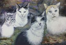 ANIMAL SKETCHES & PAINTINGS by Clive K Heyne / e mail--- clivekheyne@gmail.com ---- .