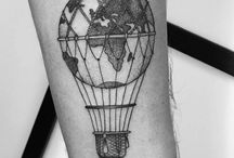 Globe-tattovering