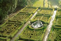 Life is a maze in which we take the wrong turning before we have learnt to walk. / Mazes, Labyrinths & Knot Gardens