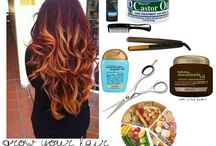 Hair and nail stuff / by Christy McCraw