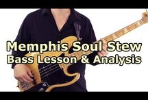 Bass Guitar Riffs - Talkingbass Lessons / This lessons deal with individual bass riffs from various popular songs