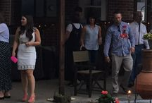 Jake Broaddus and Jessica Spiers rehearsal dinner