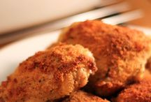 low fat fried chicken