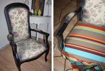 tapisser un fauteuil